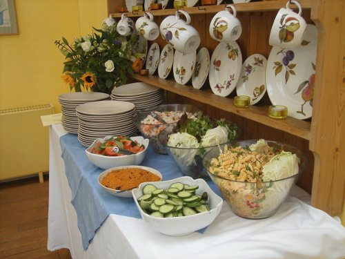 Catering Cumbria Weddings - Purple Sage Catering offer a bespoke catering service here in Cumbria a buffet - style meal
