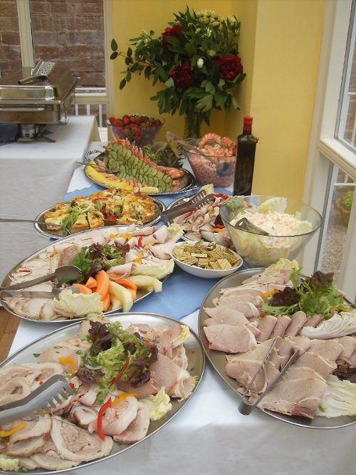 Catering Weddings Cumbria - Purple Sage Catering offer a bespoke menu service - buffet menu