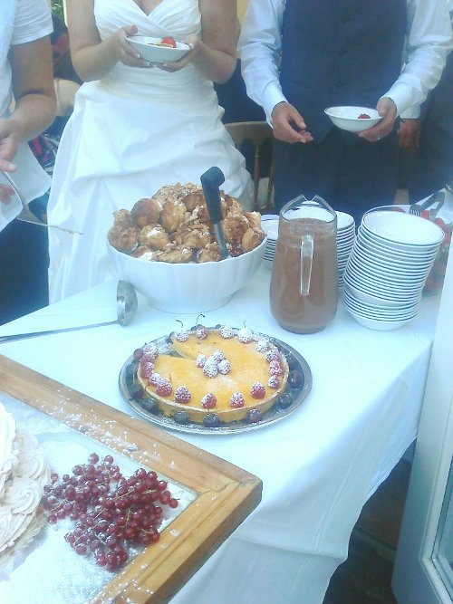 Wedding Catering Cumbria - Purple sage Catering offer a wide selection of puddings and desserts
